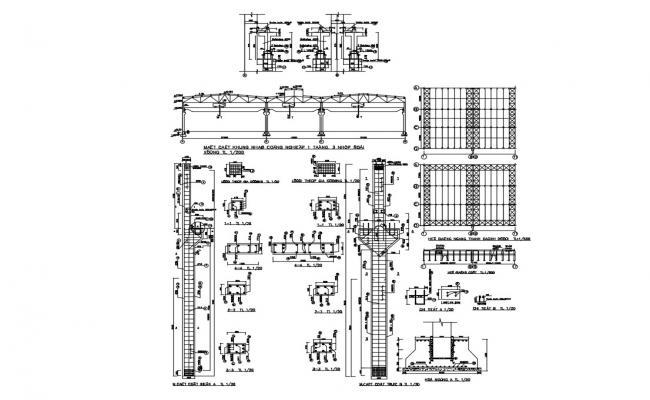 Bridge Slab Reinforcement Details CAD File Download
