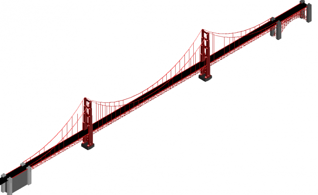Bridge drawing  architecture 3d design