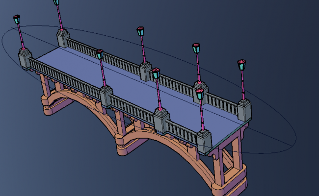 Bridge view 3D