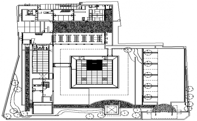 buddhist temple architecture layout and structure details
