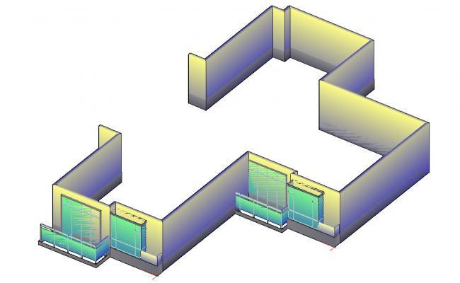 Building 3D Model CAD File Free
