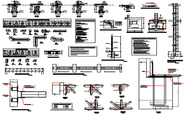 Building Construction detail dwg file