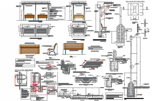 Building Construction detail dwg file