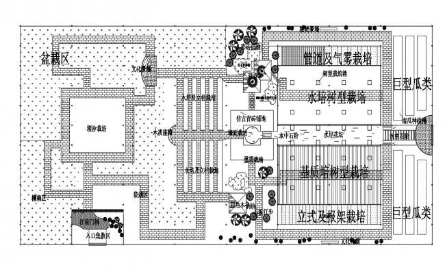 Building Corridor Plan