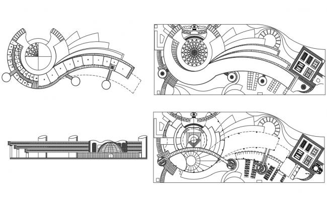 Building Drawing AutoCAD File Download