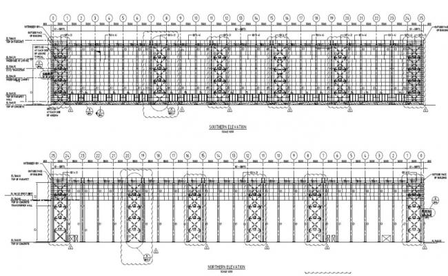 Building Elevation Drawing PDF File
