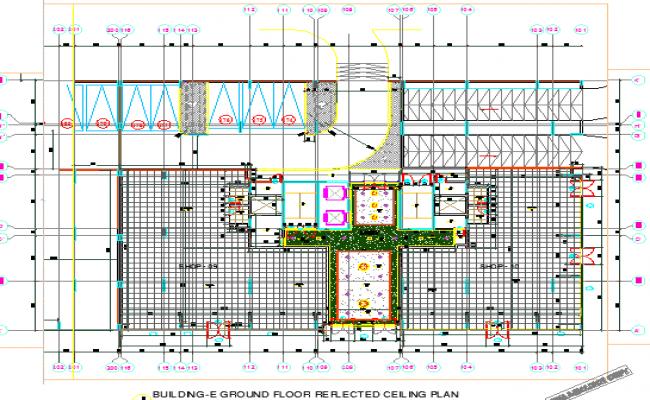 Building Ground floor plan