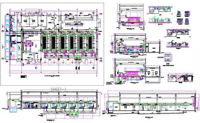 Building Piping Drawings autocad file