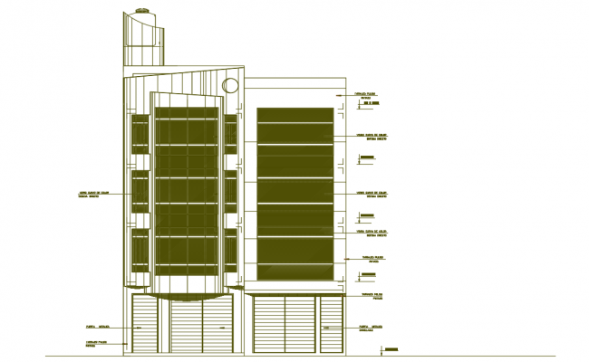 Building departments dwg file.