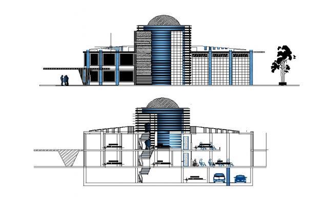 Building design in autocad