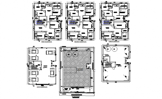 Building house detail dwg file