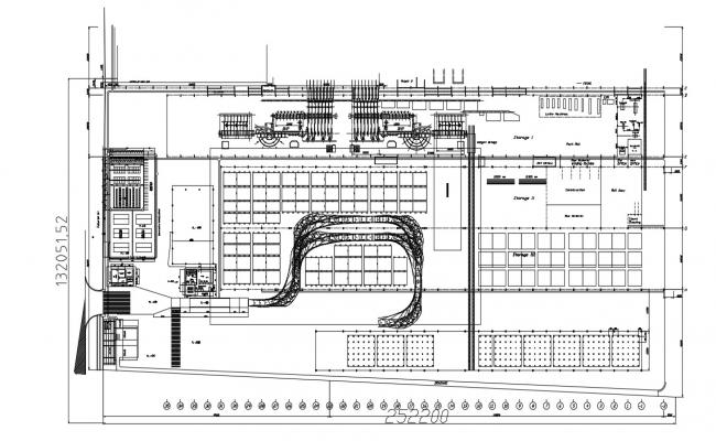 Building plan in AutoCAD