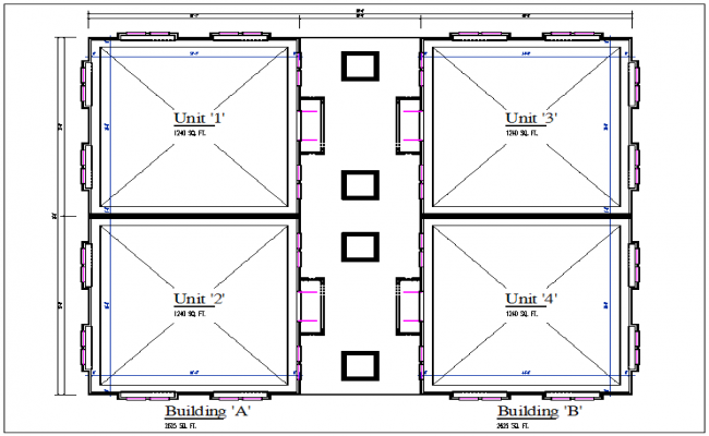 Building plan layout detail and Construction carpet area detail dwg file