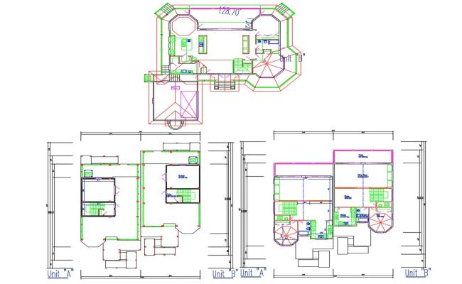 Bungalow Design Architecture Plan