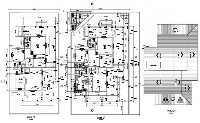 Bungalow Floor Plan AutoCAD File