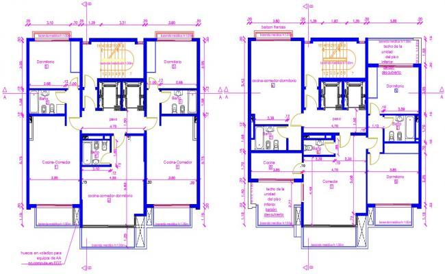 Bungalow Plan dwg