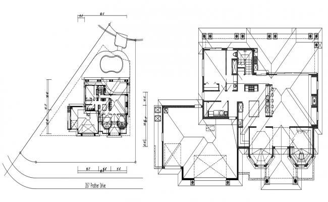 Bungalow Roof Framing Design Plan