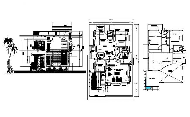 Building Drawing In AutoCAD File