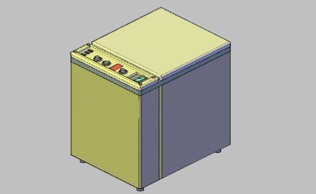 Burner oven dwg file