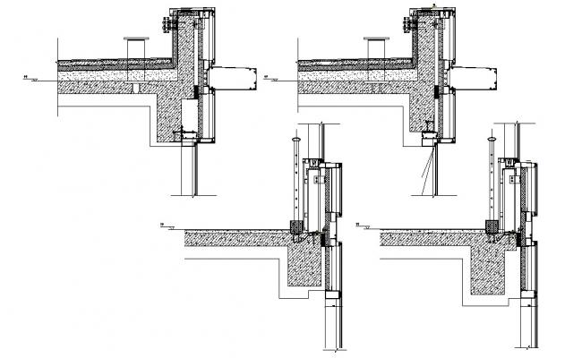 CAD Section Design of Structure Block