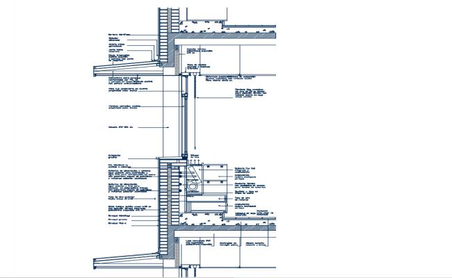 Cabinet Fan-coil dwg file