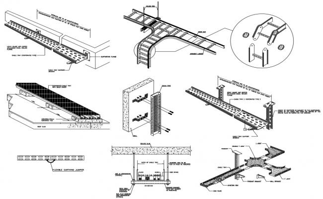 Cable Ladder Cad File