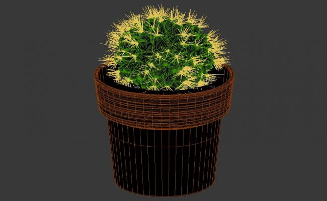 Cactus Plant 3ds Max File Free Download