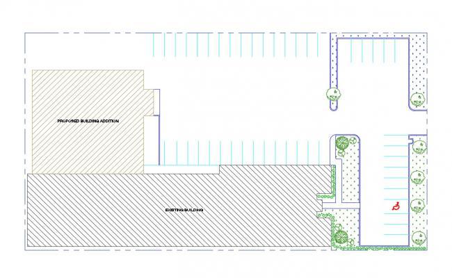 Car Parking Building Design CAD Drawing Free Download
