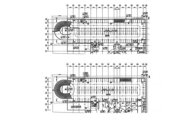 Car Parking Building Plan