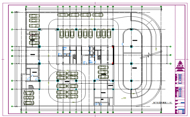 Car Parking Lay-out design