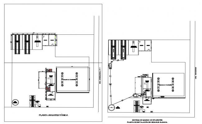 Car Service Station AutoCAD File