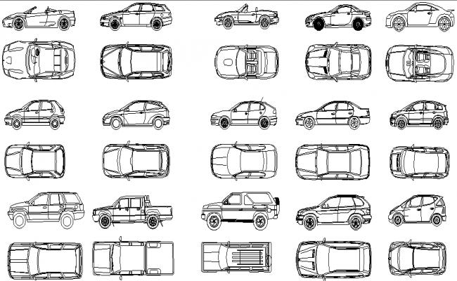 Download Free Cad Car Design In DWG File
