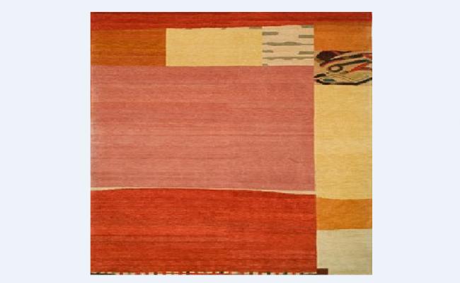 Carpet block design for office floor dwg file