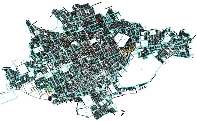 Catastral Chulucanas Urban Plan