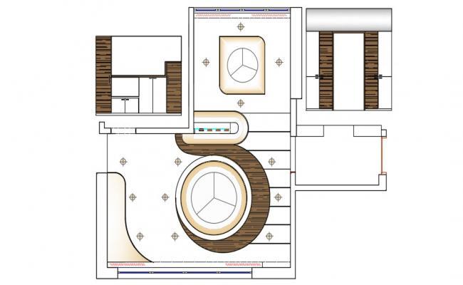 Ceiling Design AutoCAD Architecture Plan Download