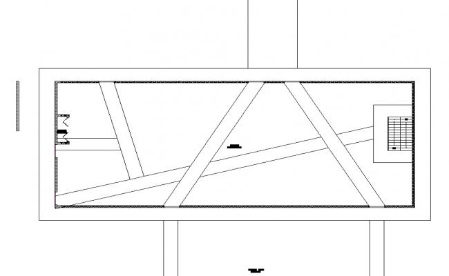 Ceiling Exhibition museum plan detail dwg file