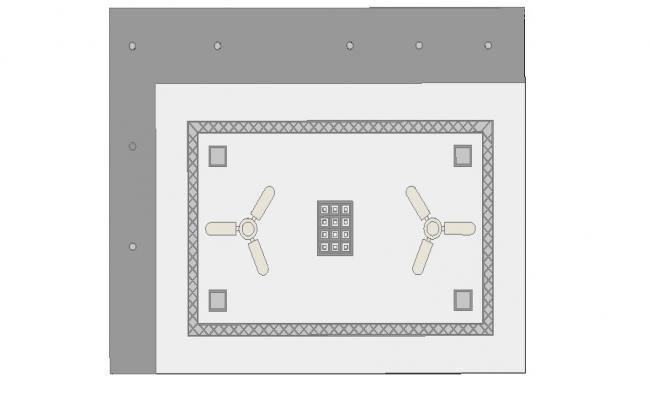 Ceiling design in autocad