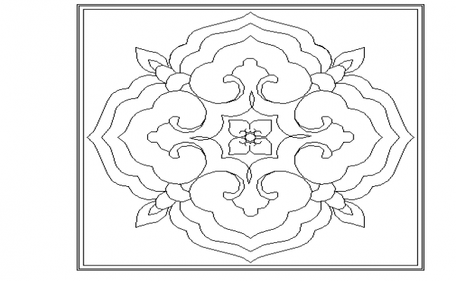 Ceiling pattern design file