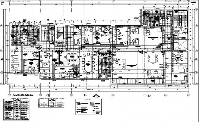 Center line plan detail dwg file