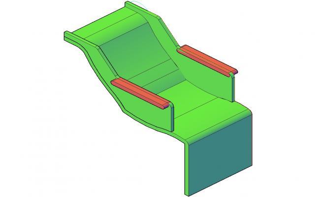 Chair 3d Model Furniture CAD Blocks