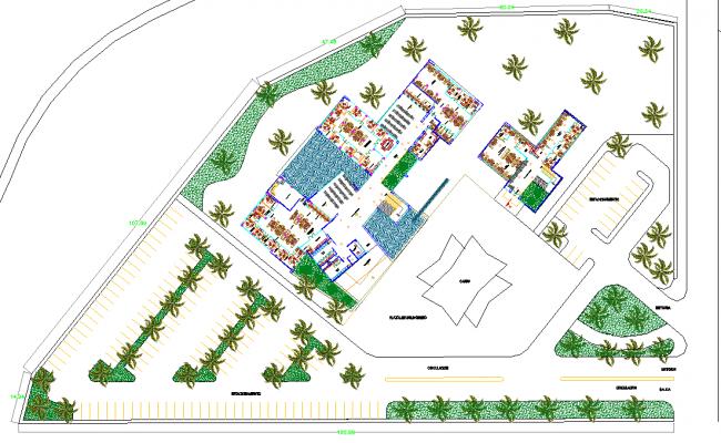 Chair city plan detail dwg file