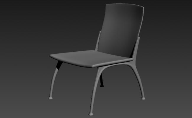 Chair design Furniture Block Free Download 3ds Max File