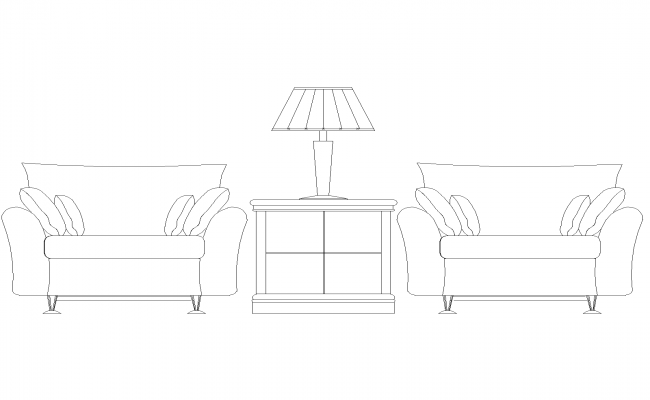 Download Free  Chair Plans In AutoCAD File