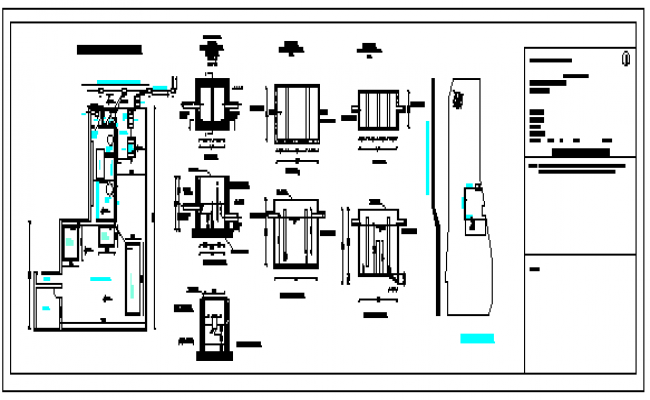 Cheese processing plant design drawing