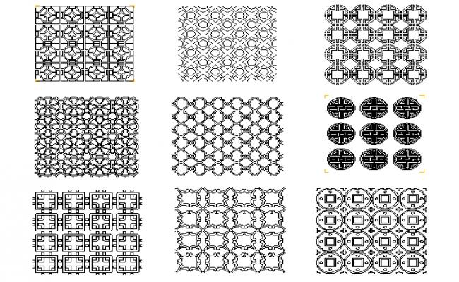 Chinese pattern designs