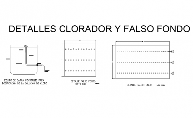 Chlorination and false background layout file