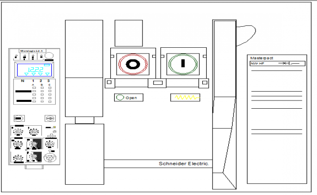 Circuit breaker master pact squared details dwg file on square d multi 9, square d 100 amp panel template, square d sef, square d la, square d altivar, square d powerpact, square d powerlogic, square d electrical panel schedule template,