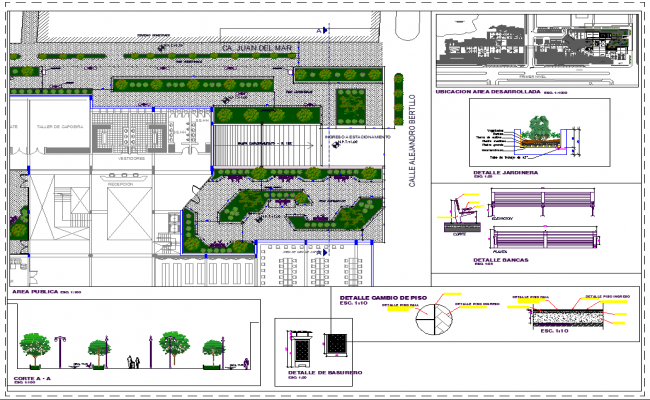 City Arcade Building layout detail