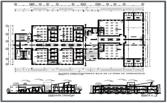 City Center plan dwg file