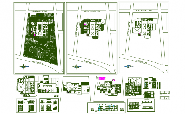 City dwg file